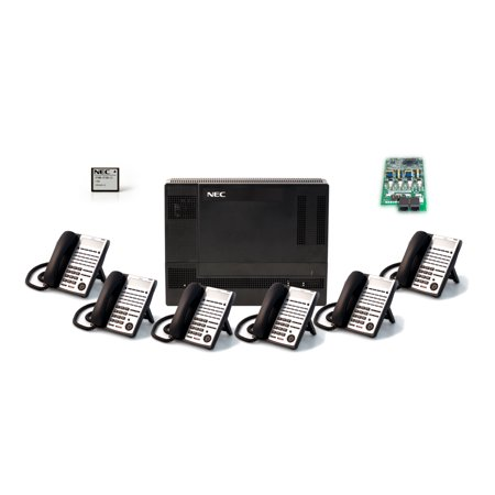 NEC 1100009 SL1100 System Kit w/ (6) 24 Key (Nec Visual Systems)