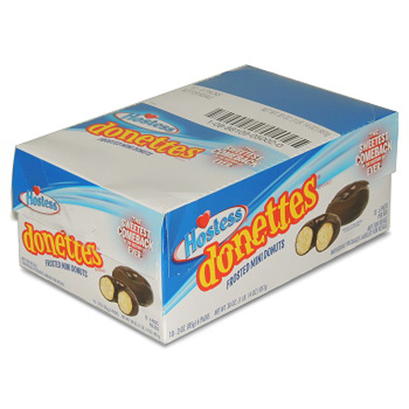 Product Of Hostess, Donettes Frost Mini Donut, Count 10 (3 oz) - Cakes & Muffins / Grab Varieties & Flavors