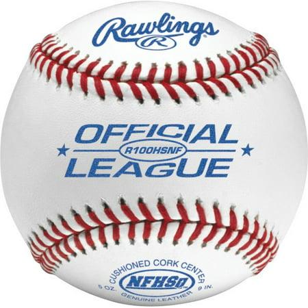 American League Official Baseball - Rawlings High School Baseball R100HSNF Elite High School Game Ball
