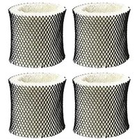 4 Packs Holmes Type A Filter HWF62 Compatible Humidifier Wick Filter Replacement Fits HM1281, HM1701, HM1761, HM1297 and HM2409