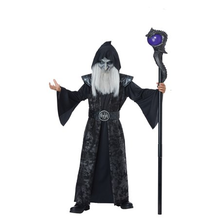 Dark Wizard Child's Costume - Boys Wizard Costume