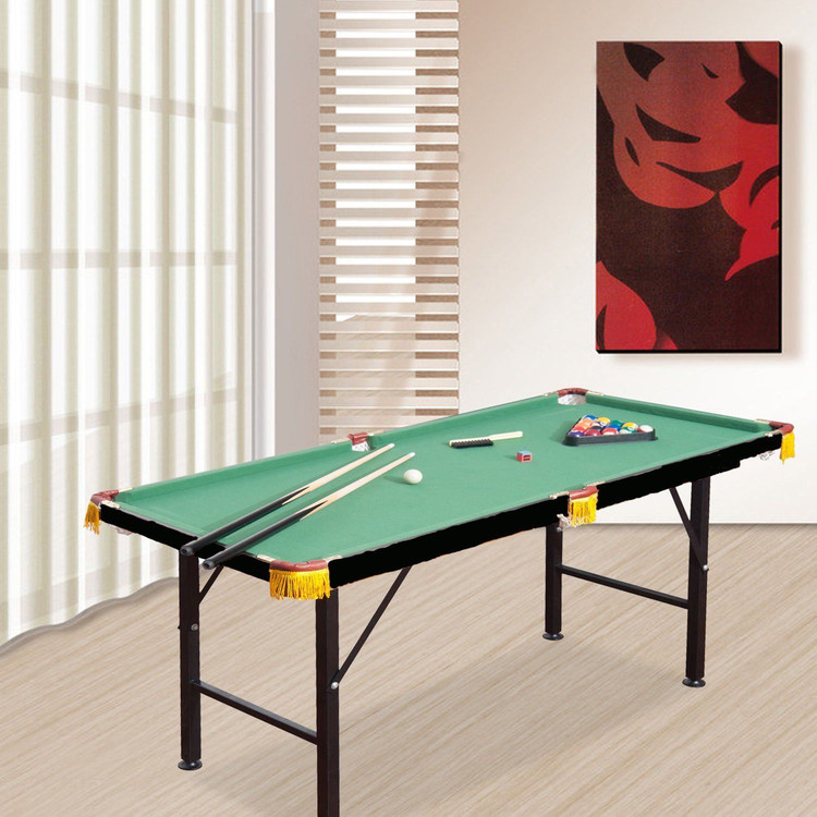 Mini Billiard Table Foldable Pool Table Portable Billiard Table With Cues Balls Children Boy Girls Kids Sports Game Toy by YKS
