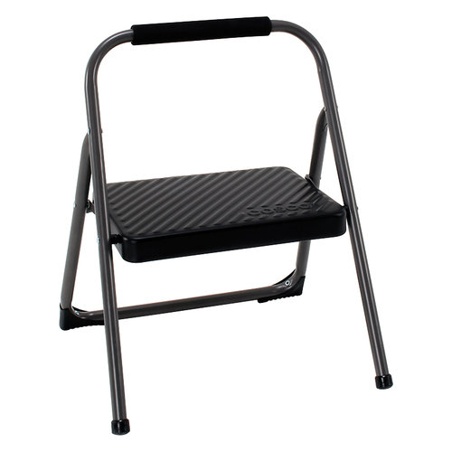 Cosco 1-Step Metal Folding Step Stool  sc 1 st  Walmart : folding step stools for the kitchen - islam-shia.org