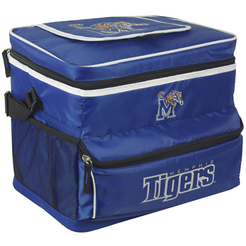 NCAA University Of Memphis 18-Can Cooler with Removable Hardliner