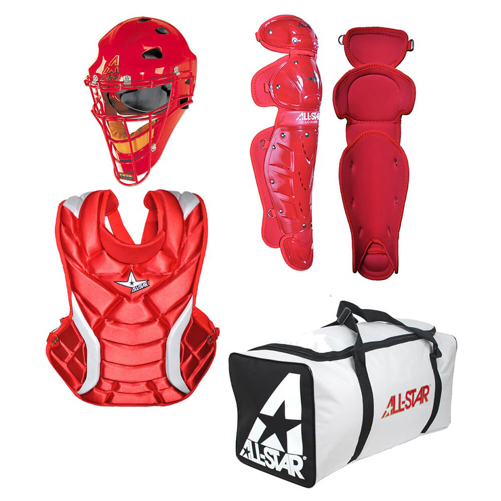 ALL-STAR CKW12.5PS Fastpitch Catcher Kit (Ages 7-9)