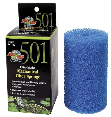 Zoo Med Turtle Clean TC702 Mechanical Replacement Sponge For 501 Filter