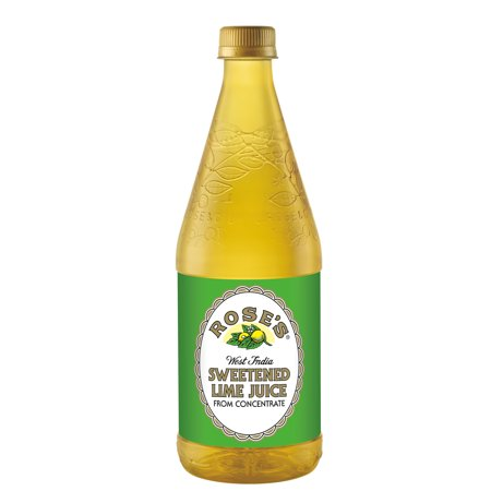 Roses Sweetened Lime Juice  25 Fl Oz