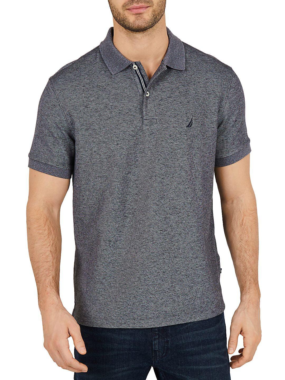 Nautica Classic Fit Moisture Wicking Polo Shirt Walmart