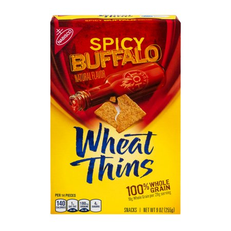 Nabisco Wheat Thins Spicy Buffalo, 9.0 OZ - Walmart.com