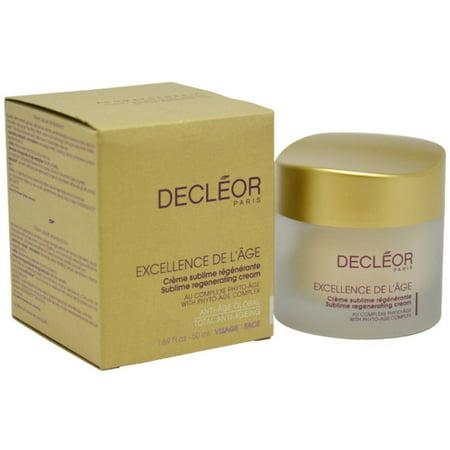 Decleor Excellence De L'Âge Sublime pour unisexe Régénérant Visage et Cou Crème, 1,69 oz