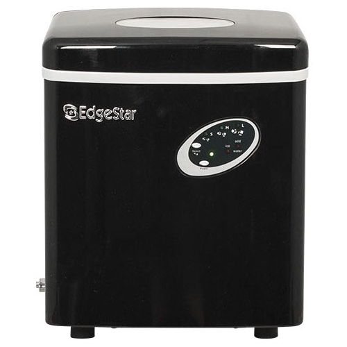 "EdgeStar IP210 12"" Wide 2.5 Lbs. Capacity Portable Ice Maker with 28 Lbs. Daily Ice Production"