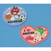 Dollhouse Soccer And All Star Sports Plaques Set Of 2 Assrt