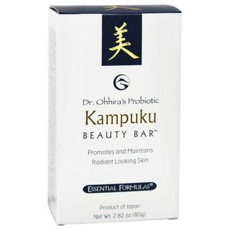 Essential Formulas - Dr. Ohhira's Probiotic Kampuku Beauty Bar Soap - 2.82 oz.