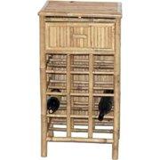 Bamboo 5875 Bamboo Wine Rack, 18 x 14.5 x 34 in.