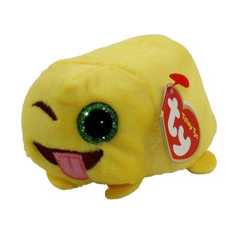 TY Beanie Boos - Teeny Tys Stackable Plush - Emoji - WINK (4 inch)](Emoji Wink)