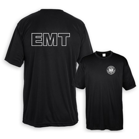 Emt Uniform - Performance Shirt EMT White Logo F&B