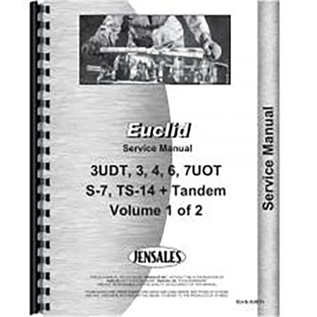 New Euclid 4Uot Industrial Construction Service Manual