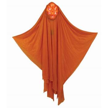 "Light Up Hidden Face 60"" Pumpkin Prop Halloween Decoration Now $25.31 (Was $71)"