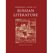 Reference Guide to Russian Literature - eBook