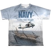US Over And Under Big Boys Sublimation Shirt