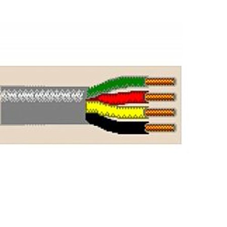 9794 1000Ft 22 Awg 4C Solid Non Shielded Communications And Control Cable Cm Mp   Gray Belden