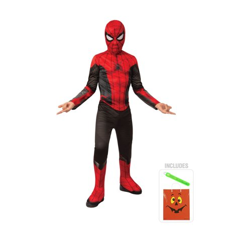 Spider Man Suit (Spiderman Red/Black Suit Kids S Halloween)