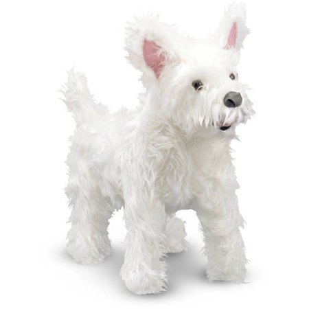 Melissa & Doug West Highland Terrier (Westie) - Lifelike Stuffed Animal Dog