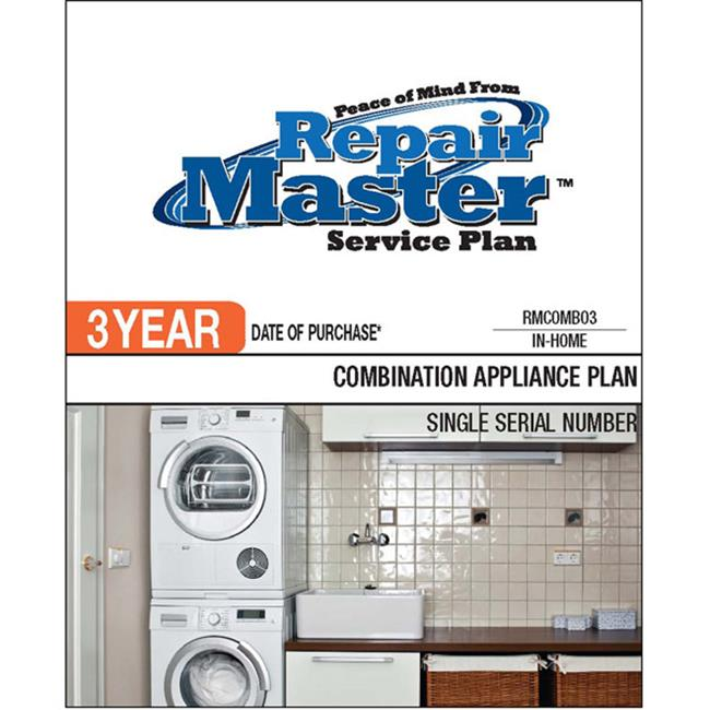 Repair Master RMCOMBO3 3-Yr Date Of Purchase Combo Appl Plan