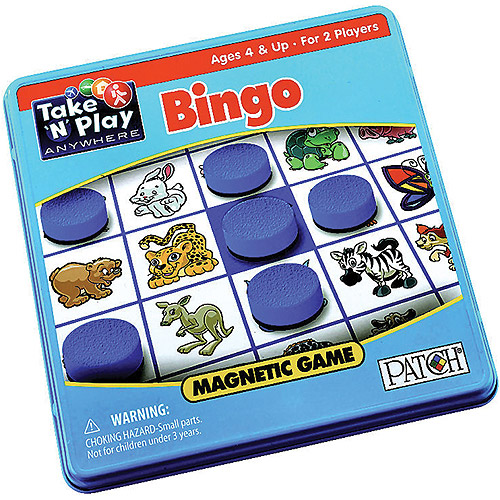 Patch Products Take 'N Play Anywhere Games Bingo