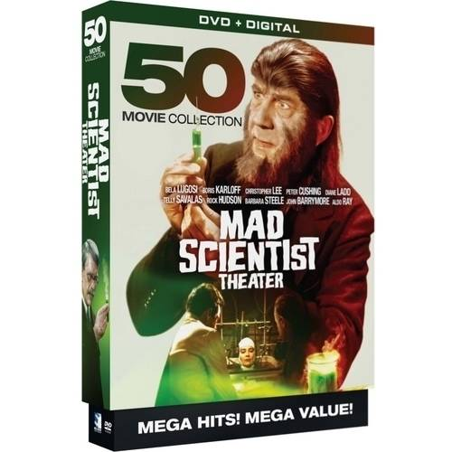 Mad Scientist Theater - 50 Movie Collection (DVD + Digital Copy)