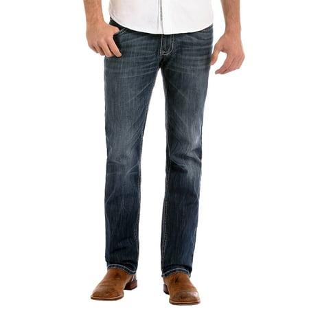 Rock And Roll Cowboy Mens  Reflex Revolver Straight Leg Jeans