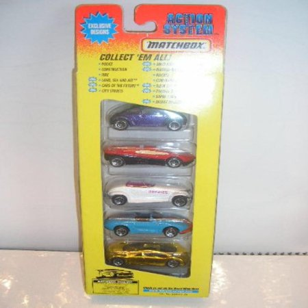 Matchbox Cars of the Future New theme 5 Pack 1996 Very Rare Very Rare Pack