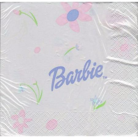Barbie 'Celebration' Small Napkins (16ct)](Barbie Napkins)