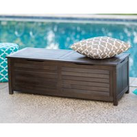 Deals on Coral Coast Barclay Outdoor Wood 50-Gallon Storage Deck Box