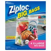 Ziploc 4 Counts Extra Large Big Bag