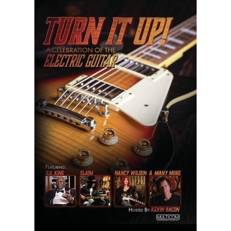 Turn it Up!: A Celebration of the Electric Guitar (DVD) Beginning Electric Guitar Dvd
