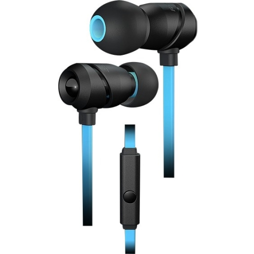 Roccat Aluma - Premium Performance In-ear Headset - Stereo - Blue, Black - Mini-phone - Wired - 16 Ohm - 20 Hz - 20 Khz - Earbud - Binaural - In-ear - 3.94 Ft Cable (roc-14-210)