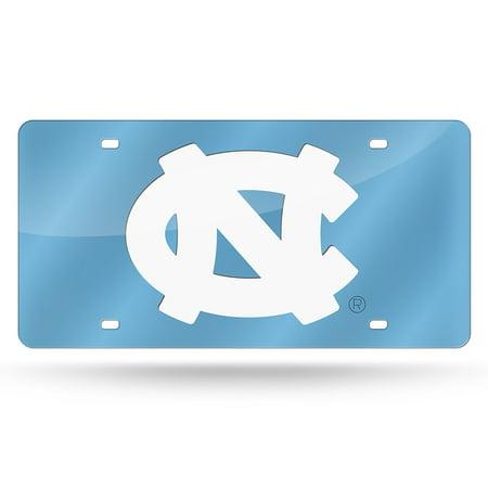 North Carolina Tar Heels NCAA Laser Cut License Plate (North Carolina License Plate Office)