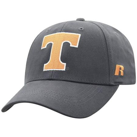 Tennessee Volunteers Hat (Men's Russell Athletic Charcoal Tennessee Volunteers Endless Adjustable Hat -)