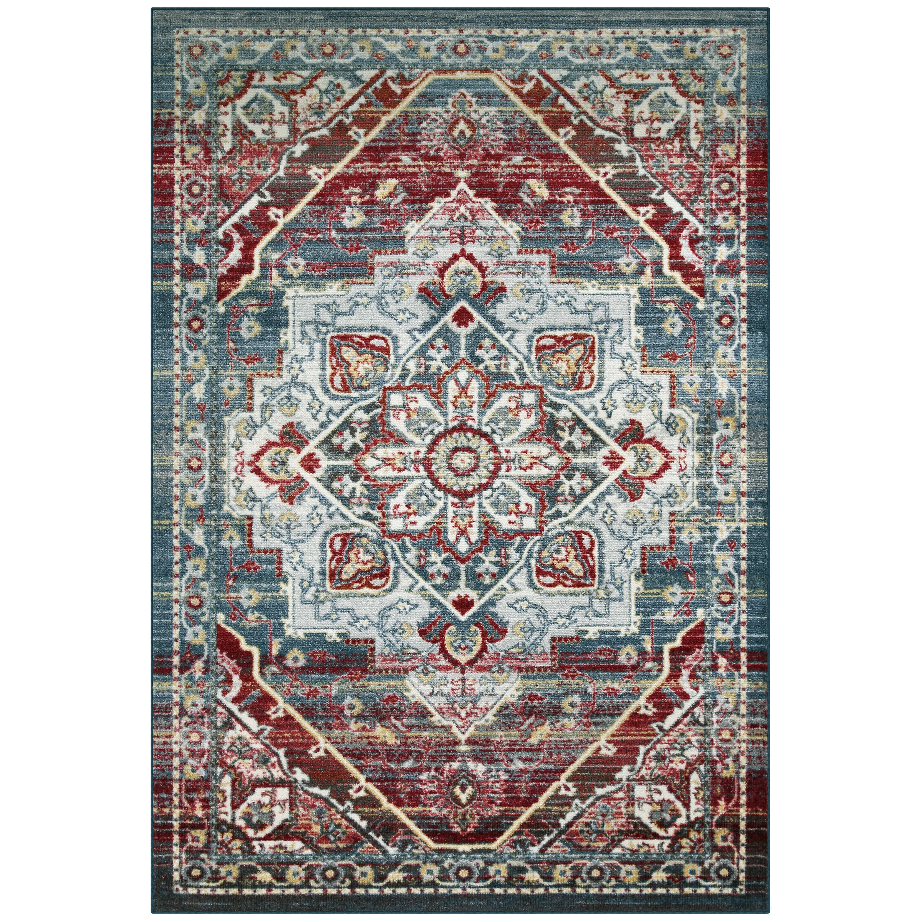 Better Homes and Gardens Blooming Bendigo Multi-Color Area Rug or Runner