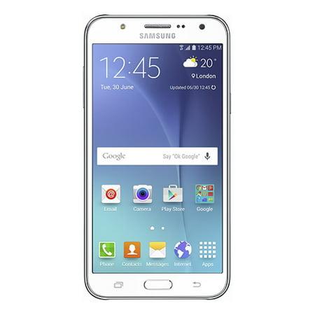 Samsung Galaxy J7 Dual Sim 4G   Sm J700h Ds White  International Model  Factory Unlocked Gsm Mobile Phone