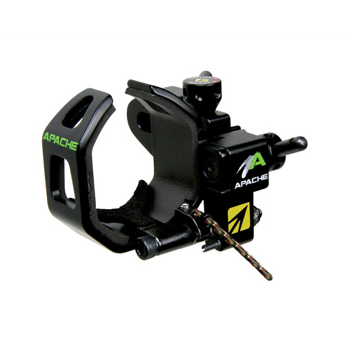 New Archery Products Apache Drop Away Arrow Rest, Black, Left Hand