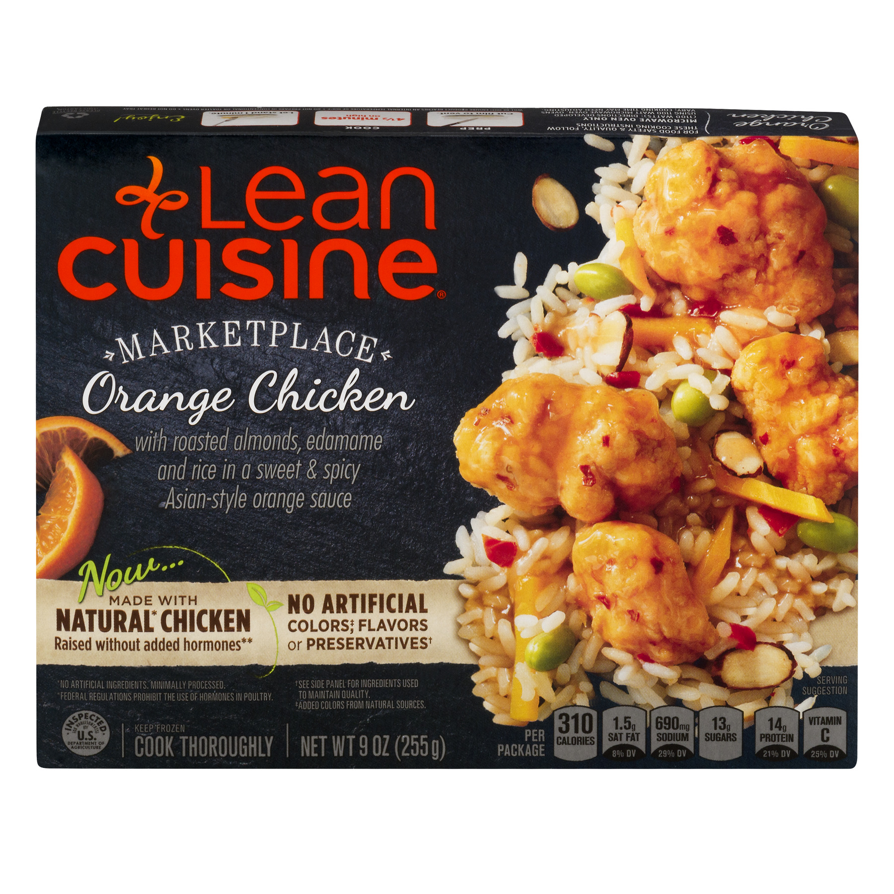 LEAN CUISINE MARKETPLACE Orange Chicken 9 oz. Box