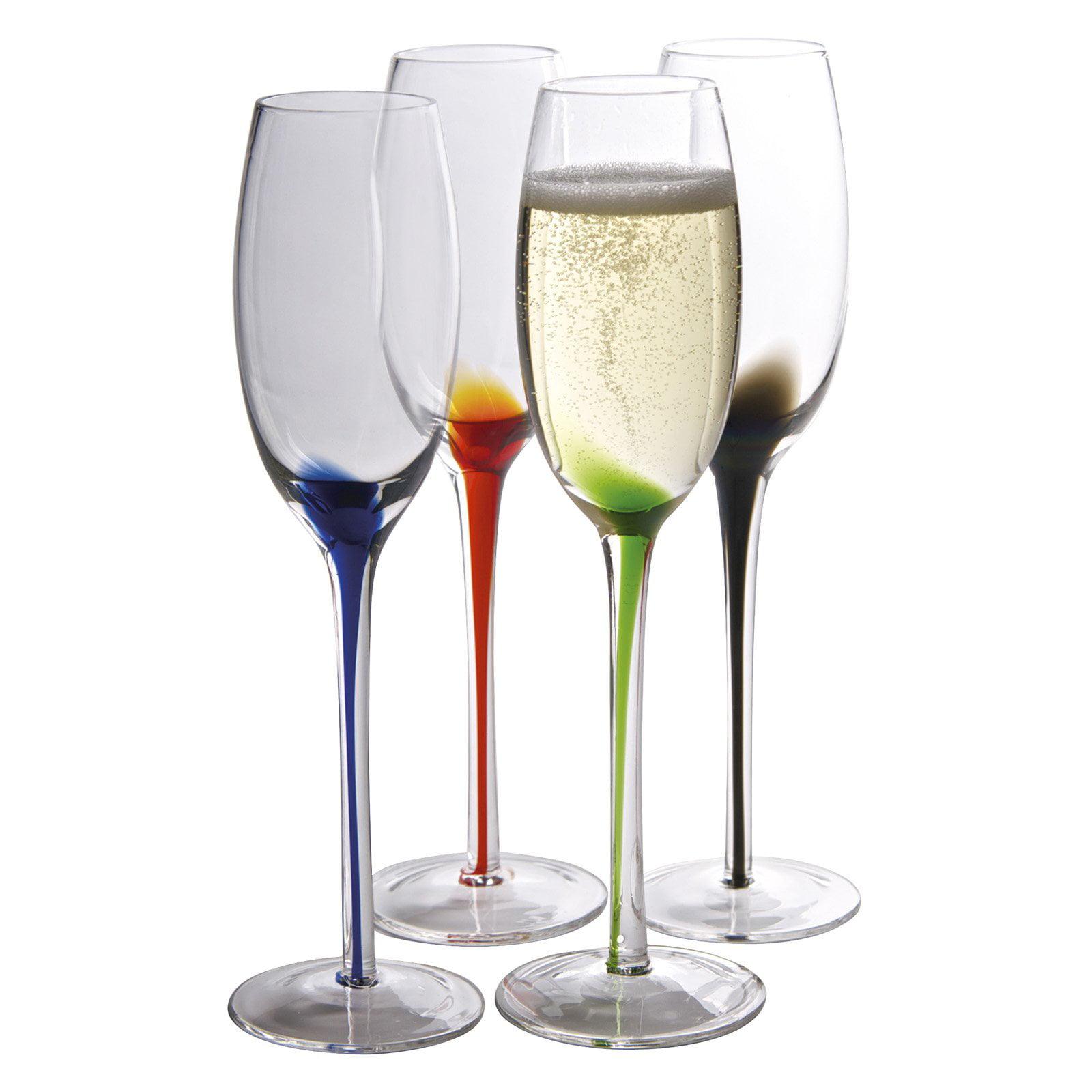 Artland Splash Champagne Flute - Set of 4