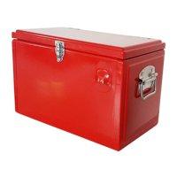 Permasteel 21 qt. Red Portable Picnic Cooler
