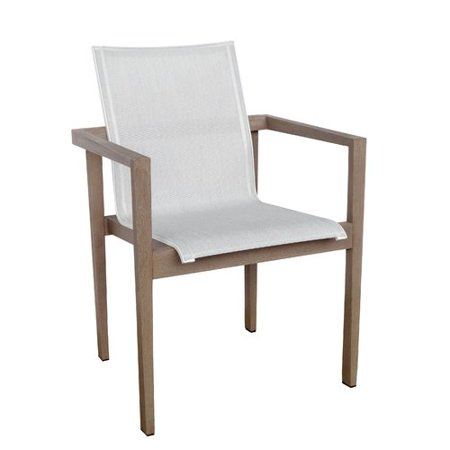 Les Jardins Skaal Stacking Chair With Arms Set Of 2