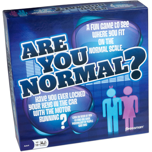 Pressman Toy Are You Normal? Game