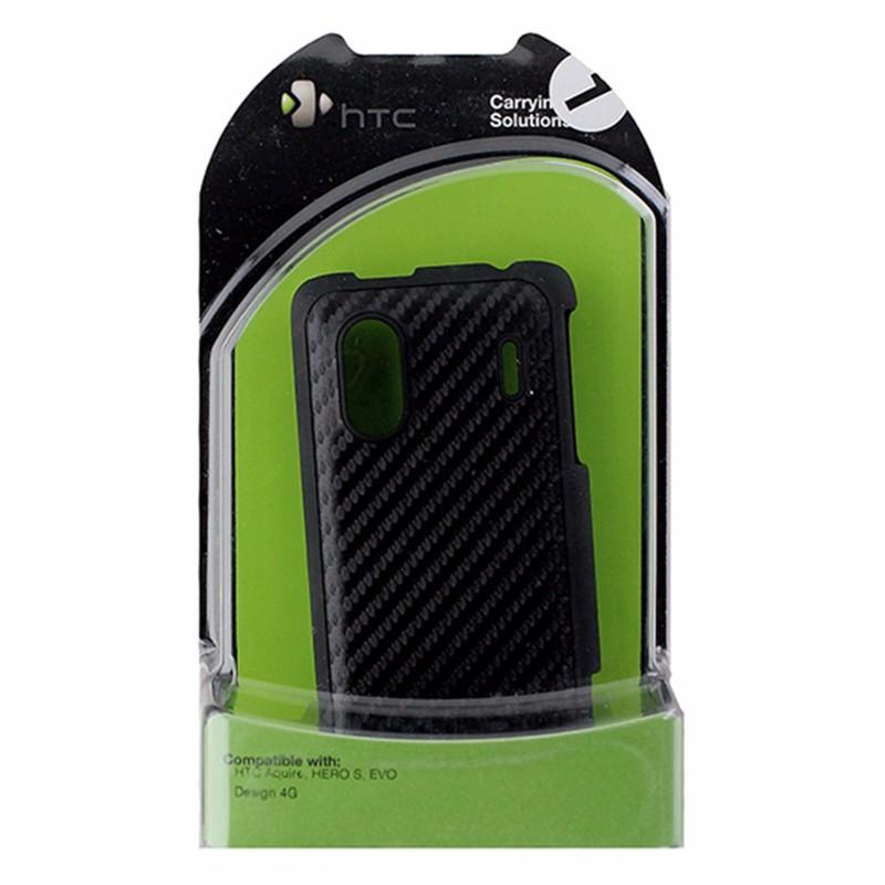 HTC Carbon Fiber Hardshell Case for HTC Aquire   Hero S   Evo Design Black by HTC