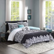 Home Essence Apartment Annie Damask Comforter Bedding Set