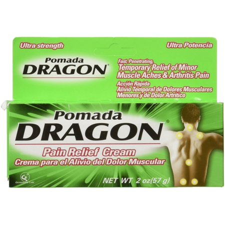 2 Pack - Pomada Dragon Ultra Strength Pain Relieving Cream 2 oz
